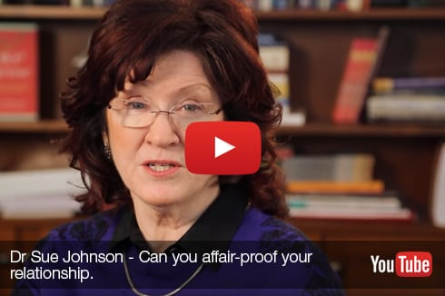 Can you affair proof your relationship. Dr Sue Johnson