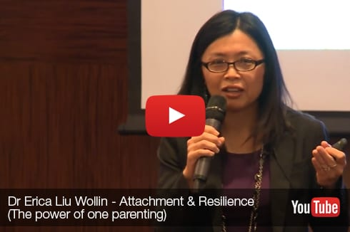 Dr Erica Liu Wollin Attachment Resilience The power of one PARENTING